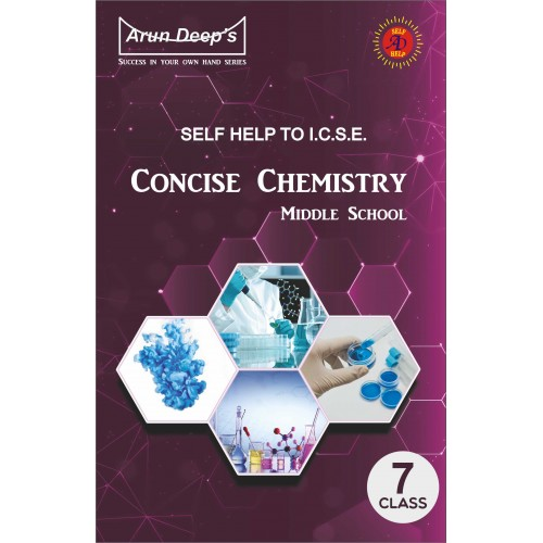 Self-Help to I.C.S.E. Concise Chemistry Middle School 7