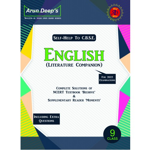 Self-Help to C.B.S.E. English Literature Companion 9 (NCERT Solutions)