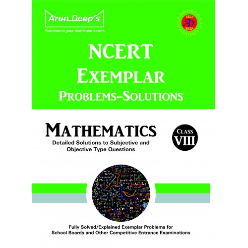 Self-Help to NCERT Exemplar Problems Solved Mathematics 8