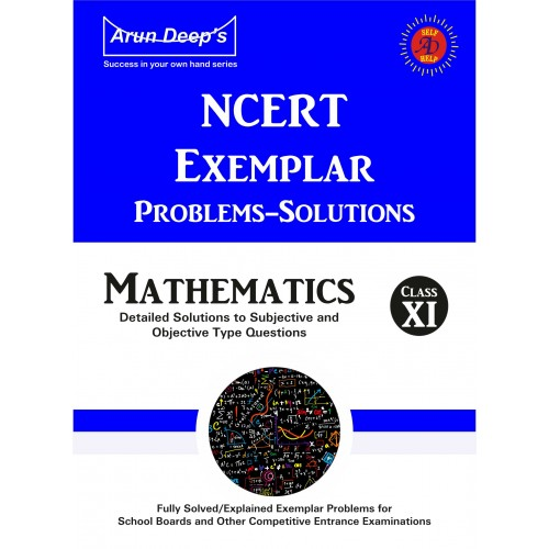 Self-Help to NCERT Exemplar Problems Solved Mathematics 11
