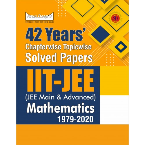 42 Years' Chapterwise Topicwise Solved Papers (2020-1979) IIT JEE Mathematics (Digital Edition)