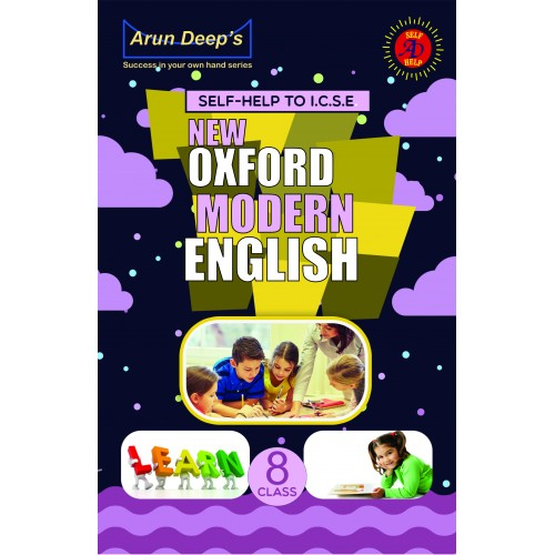 Self-Help to I.C.S.E. New Oxford Modern English 8