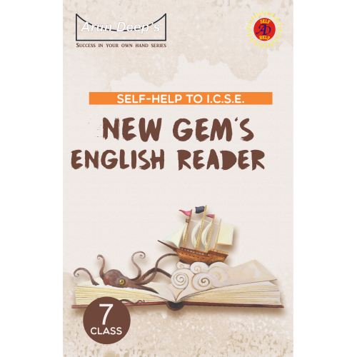 Self-Help to New Gem's English Reader Class 7