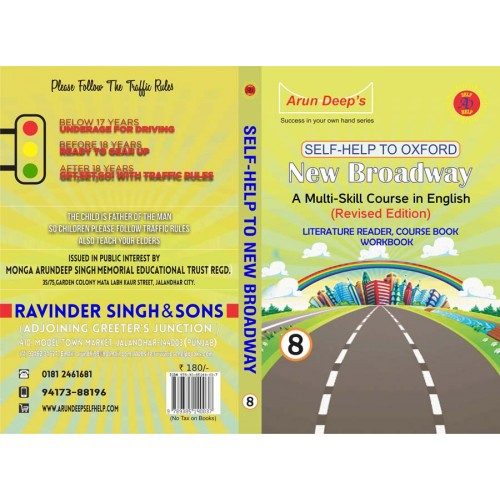Self-Help to Broadway 8 ( Course Book, Workbook, literature Reader )
