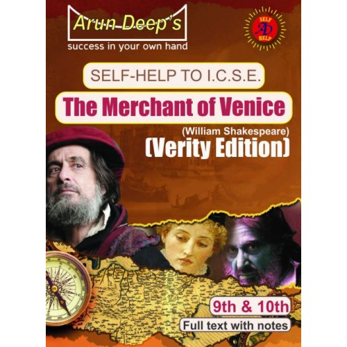 Self-Help to I.C.S.E The Merchant of Venice (Verity Edition) Class 9 & 10